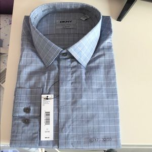 New Men's Slim Fit Dress Shirt